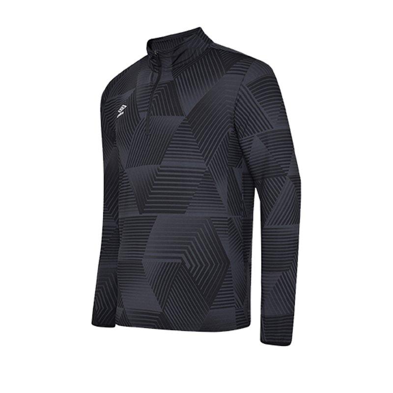 Umbro Maxium 1/4 Zip Training Sweatshirt F060 - schwarz