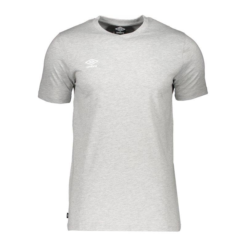 Umbro Club Leisure Crew T-Shirt Grau FZZ0 - grau