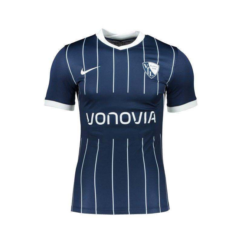 Nike VfL Bochum Trikot Home Slim Fit 2021/2022 Blau F410 - blau
