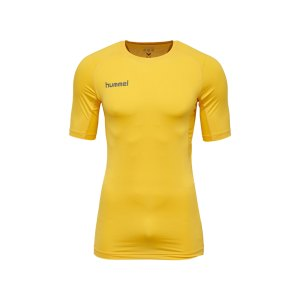 hummel-first-performance-shirt-kurz-gelb-f5001-herren-maenner-men-shirt-oberteil-laufkleidung-funktionskleidung-teamsport-003729.jpg