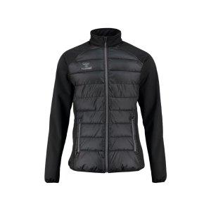 hummel-classic-bee-zain-jacket-jacke-schwarz-f2001-equipment-ausruestung-freizeizkleidung-sportmode-wetterjacke-080909.jpg