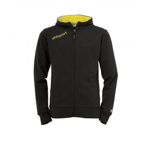 uhlsport-essential-kapuzenjacke-schwarz-gelb-f05-kapuze-trainingsjacke-sportjacke-sweatjacke-training-workout-1002102.png