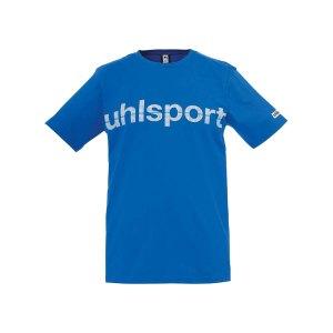 uhlsport-essential-promo-t-shirt-kids-blau-f03-shortsleeve-kurzarm-shirt-baumwolle-rundhalsausschnitt-markentreue-1002106.png