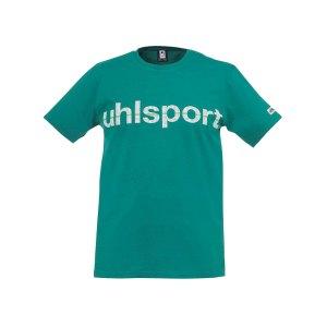 uhlsport-essential-promo-t-shirt-kids-gruen-f04-shortsleeve-kurzarm-shirt-baumwolle-rundhalsausschnitt-markentreue-1002106.png