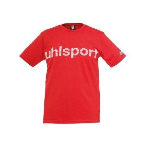 uhlsport-essential-promo-t-shirt-kids-rot-f06-shortsleeve-kurzarm-shirt-baumwolle-rundhalsausschnitt-markentreue-1002106.png