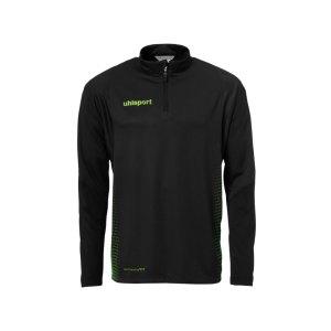 uhlsport-score-ziptop-sweatshirt-schwarz-gruen-f06-teamsport-mannschaft-oberteil-top-bekleidung-textil-sport-1002146.png