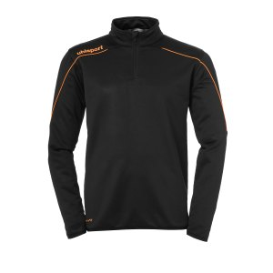 uhlsport-stream-22-ziptop-kids-schwarz-orange-f22-fussball-teamsport-textil-sweatshirts-1002203.png