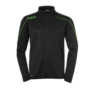 uhlsport-stream-22-ziptop-schwarz-gruen-f24-fussball-teamsport-textil-sweatshirts-1002203.png