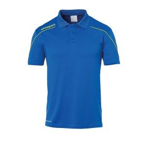 uhlsport-stream-22-poloshirt-blau-gelb-f14-fussball-teamsport-textil-poloshirts-1002204.png