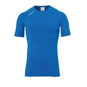uhlsport-pro-baselayer-kurzarm-blau-f03-underwear-kurzarm-1002206.jpg
