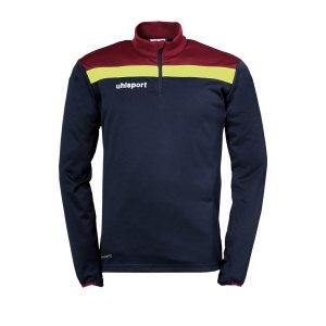 uhlsport-offense-23-1-4-zip-top-blau-f13-fussball-teamsport-textil-sweatshirts-1002212.png