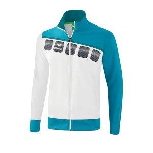 erima-5-c-praesentationsjacke-weiss-blau-fussball-teamsport-textil-jacken-1011909.png