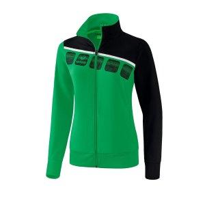 erima-5-c-praesentationsjacke-damen-gruen-schwarz-fussball-teamsport-textil-jacken-1011914.jpg