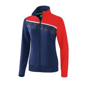 erima-5-c-praesentationsjacke-damen-blau-rot-fussball-teamsport-textil-jacken-1011916.png
