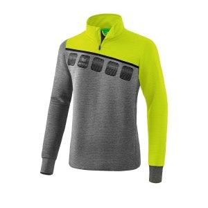 10124172-erima-5-c-trainingstop-kids-grau-gruen-1261908-fussball-teamsport-textil-sweatshirts.png