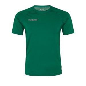 10124926-hummel-first-performance-kurzarmshirt-gruen-f6140-204500-underwear-kurzarm.png