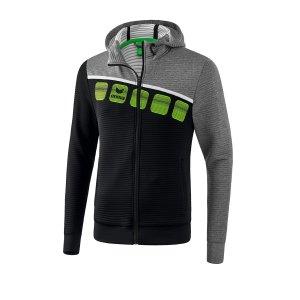 erima-5-c-trainingsjacke-kapuze-kids-schwarz-grau-fussball-teamsport-textil-jacken-1031904.jpg
