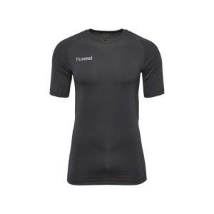 hummel-first-performance-shirt-kurz-schwarz-f2001-herren-maenner-men-shirt-oberteil-laufkleidung-funktionskleidung-teamsport-003729.jpg