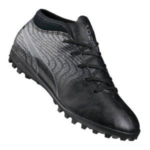 puma-one-18-4-tt-turf-kids-schwarz-grau-f02-cleets-shoe-ascheplatz-fussballschuh-kunstrasen-104562.jpg