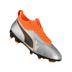 puma-one-3-leder-ag-kids-silber-orange-f01-fussball-schuhe-kinder-nocken-104778.png