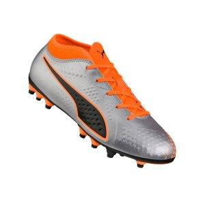 puma-one-4-ag-kids-silber-orange-f01-fussball-schuhe-kinder-nocken-104780.png