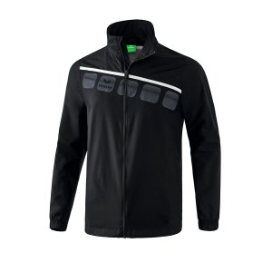 erima-5-c-allwetterjacke-schwarz-weiss-fussball-teamsport-textil-allwetterjacken-1051901.jpg
