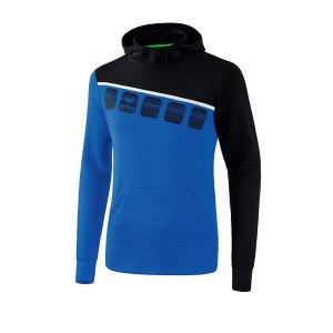erima-5-c-kapuzensweat-blau-schwarz-fussball-teamsport-textil-sweatshirts-1071901.png