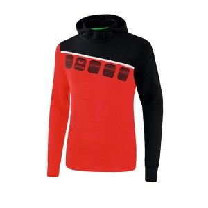 erima-5-c-kapuzensweat-kids-rot-schwarz-fussball-teamsport-textil-sweatshirts-1071902.png