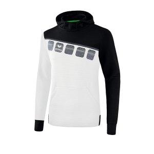 erima-5-c-kapuzensweat-weiss-schwarz-fussball-teamsport-textil-sweatshirts-1071903.png