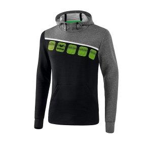 erima-5-c-kapuzensweat-schwarz-grau-fussball-teamsport-textil-sweatshirts-1071904.png