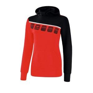 10124061-erima-5-c-kapuzensweat-damen-rot-schwarz-1071911-fussball-teamsport-textil-sweatshirts.png