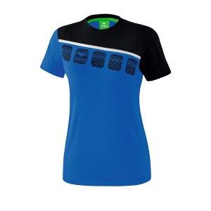 10124091-erima-5-c-t-shirt-damen-blau-schwarz-1081911-fussball-teamsport-textil-t-shirts.jpg