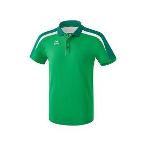 erima-liga-2-0-poloshirt-gruen-weiss-teamsport-vereinskleidung-shortsleeve-kurzarm-1111823.png
