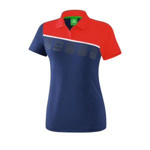 erima-5-c-poloshirt-damen-blau-rot-fussball-teamsport-textil-poloshirts-1111917.png