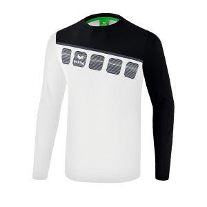 erima-5-c-longsleeve-weiss-schwarz-fussball-teamsport-textil-sweatshirts-1331903.png