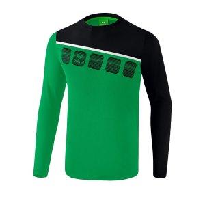 erima-5-c-longsleeve-gruen-schwarz-fussball-teamsport-textil-sweatshirts-1331905.png
