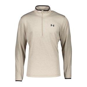 under-armour-fleece-halfzip-sweatshirt-beige-f200-1357145-laufbekleidung_front.png