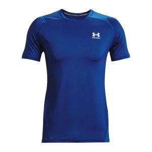 under-armour-hg-fitted-t-shirt-blau-f432-1361683-fussballtextilien_front.png