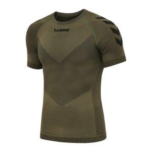 hummel-first-seamless-jersey-khaki-f6084-202636-teamsport_front.png