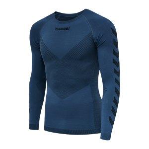 hummel-first-seamless-longsleeve-blau-f7642-202638-underwear_front.png