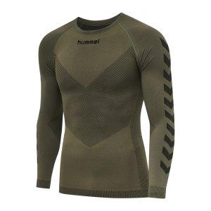 hummel-first-seamless-longsleeve-khaki-f6084-202638-underwear_front.png