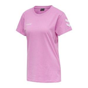 hummel-cotton-t-shirt-damen-lila-f3415-203440-teamsport_front.png
