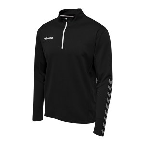 hummel-authentic-1-2-zip-sweatshirt-schwarz-f2114-204927-teamsport_front.png
