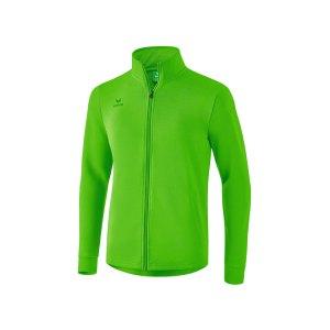 erima-casual-basics-sweatjacke-gruen-teamsport-freizeitkleidung-oberbekleidung-2071804.png