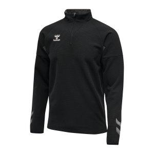 hummel-hmllead-halfzip-sweatshirt-schwarz-f2001-207421-teamsport_front.png