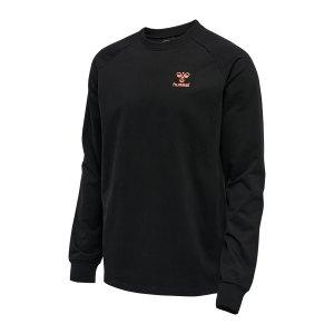 hummel-hmlaction-sweatshirt-schwarz-f2345-211095-teamsport_front.png