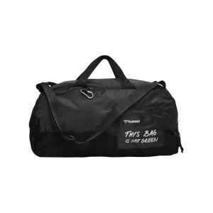 hummel-hmlpro-xk-sporttasche-schwarz-beige-f2353-211432-equipment_front.png