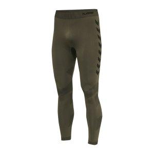 hummel-first-seamless-training-tight-khaki-f6084-212557-underwear_front.png