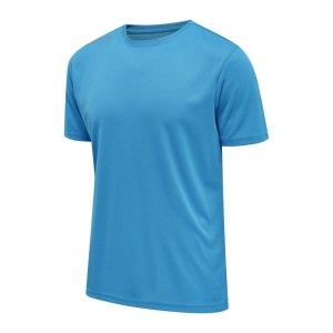 newline-core-functional-t-shirt-running-blau-f6767-510100-laufbekleidung_front.png