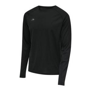newline-core-t-shirt-running-schwarz-f2001-510103-laufbekleidung_front.png